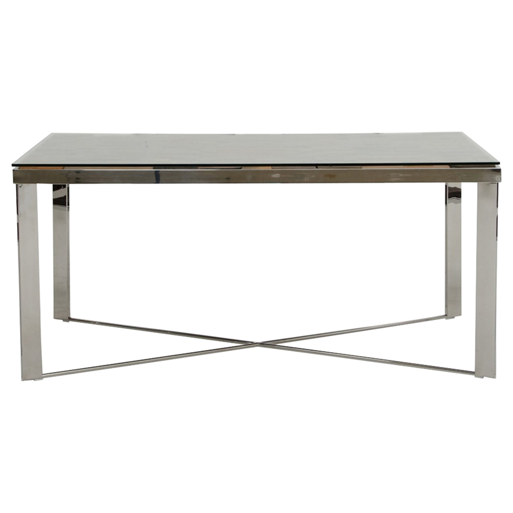 shine kitchen cabinets modrest santiago rectangular dining table gray dcg stores 2193