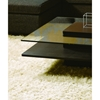 Modrest Emulsion Modern Square Glass Coffee Table Oak Dcg Stores