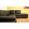 Timothy Leather Sectional with Chaise - WI-625-M9812