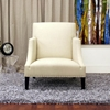 Heddery Cream Fabric Club Chair - WI-A-731-C-232