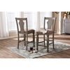 Arianna Counter Stool - Gray, Wheat Light Brown (Set of 2) - WI-ALR-15377-WHEAT-GRAY-DC