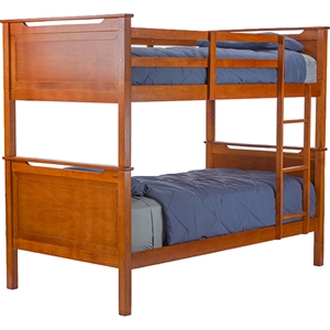 Wexford Twin Bunk Bed - Brown