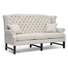 New Sussex High Wingback Sofa & Loveseat - Nail Heads, Light Beige  KF08