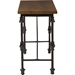 Julian Occasional Console Table - Brown, Black - WI-CA-1129-ST