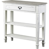 Dauphine 1 Drawer Accent Console Table - White, Light Brown - WI-CHR10VM-M-B-C
