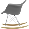 Dario Rocking Chair - Plastic - WI-DC-311W-CHAIR