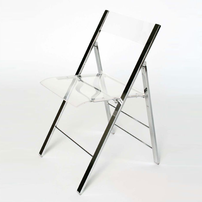 Willoughby Acrylic Foldable Chair