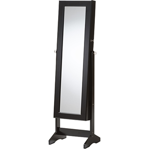 Alena Jewelry Mirror - Black, Free Standing Cheval Mirror