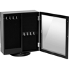 Wessex Jewelry Armoire - Black - WI-GLD13334-BLACK