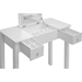 Wessex 2 Drawers Vanity Table - White - WI-GLT18070-WHITE