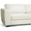 Orland Sectional Sofa - White Leather, Right Facing Chaise - WI-IDS023-SEC-LTB07-WHITE-RFC