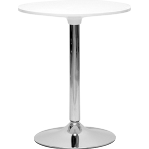 Ji Small Bistro Table - White