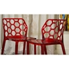 Honeycomb Stackable Acrylic Dining Chair - WI-PC-454-X