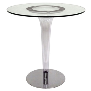 Simi Modern Glass Bistro Table