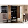 Marya 2 Doors Wine Cabinet - Walnut, Wenge - WI-RT451-OCC