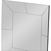 Gerard Square Accent Wall Mirror - Silver - WI-RXW-4997