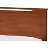Demitasse Platform Bed - Antique Oak - WI-SB312-ANTIQUE-OAK