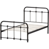 Mandy Twin Metal Bed - Black - WI-TS105-BLACK-TWIN