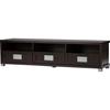 Gerhardine 3 Drawers Tv Cabinet Wenge
