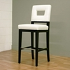 Biance Cream Leather Bar Stool - WI-Y-780-FU155