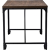 Greyson Rectangular Office Desk - Antique Bronze, Brown - WI-YLX-4055