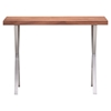 Renmen Walnut Console Table - ZM-100088