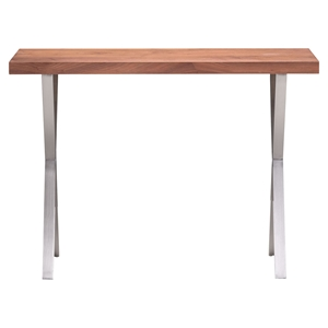 Renmen Walnut Console Table