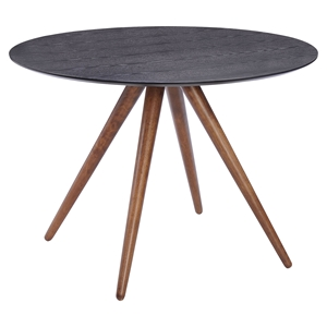 Grapeland Heights Dining Table - Walnut and Black