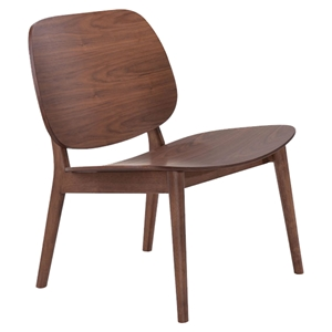 Priest Lounge Chair - Walnut