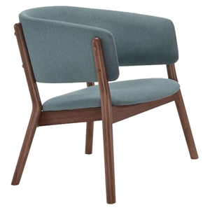 Chapel Lounge Chair - Blue