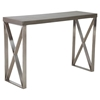 Paragon Console Table - Cement - ZM-100203