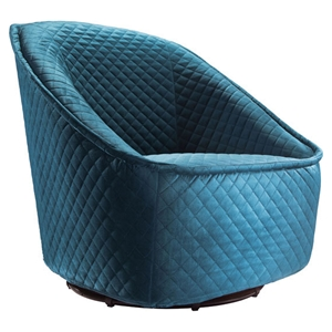 Pug Swivel Chair - Aquamarine