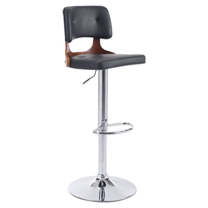 Lynx Bar Chair - Adjustable, Black