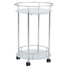 Plato Serving Cart - Stainless Steel - ZM-100365