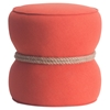 Tubby Ottoman - Orange - ZM-13019