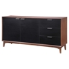 Liberty City Buffet Table - Walnut - ZM-199055