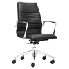 Lion Low Back Office Chair - Black - ZM-206170