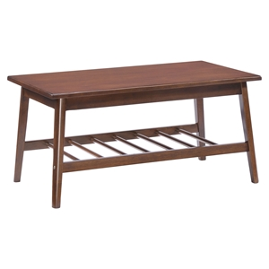Aventura Walnut Coffee Table