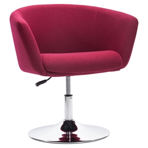 Umea Arm Chair - Carnelian Red