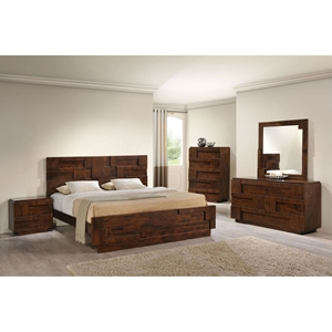 San Diego Bedroom Set - Walnut
