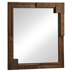San Diego Mirror - Walnut